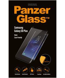 PanzerGlass Samsung Galaxy S8 Plus Case Friendly Screenprotector Zwart