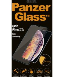 PanzerGlass Apple iPhone X / XS Case Friendly Screenprotector Zwart