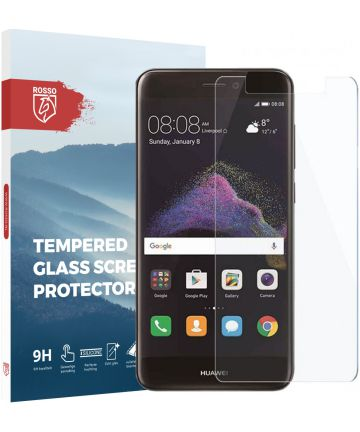 Rosso Huawei P8 Lite (2017) 9H Tempered Glass Screen Protector