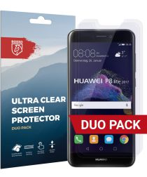 Rosso Huawei P8 Lite (2017) Ultra Clear Screen Protector Duo Pack