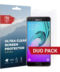 Rosso Samsung Galaxy A5 (2016) Ultra Clear Screen Protector Duo Pack