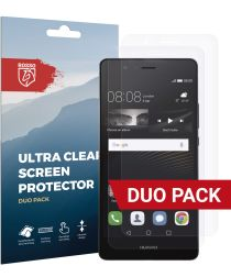 Rosso Huawei P9 Lite Ultra Clear Screen Protector Duo Pack