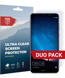 Rosso Huawei Mate 10 Lite Ultra Clear Screen Protector Duo Pack