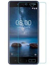 Nokia 8 Volledig Dekkende Screen Protector Ultra Clear (2 Stuks)