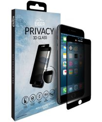 Eiger 3D Privacy Tempered Glass Apple iPhone 6S / 7 / 8 Zwart