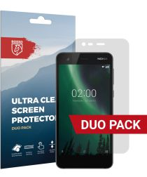 Rosso Nokia 2 Ultra Clear Screen Protector Duo Pack