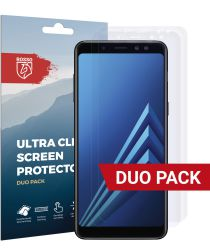 Rosso Samsung Galaxy A8 (2018) Ultra Clear Screen Protector Duo Pack