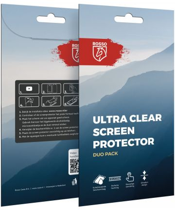 Rosso HTC U11 Life Ultra Clear Screen Protector Duo Pack