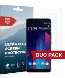 Rosso HTC U11 Plus Ultra Clear Screen Protector Duo Pack