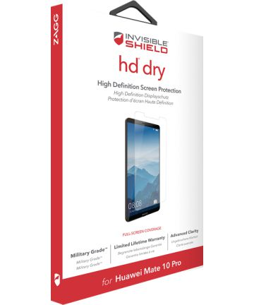 InvisibleSHIELD HD Dry Screen Protector Huawei Mate 10 Pro