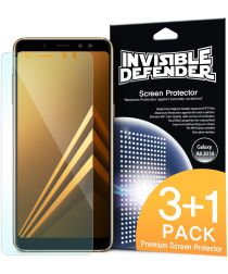 Ringke Invisible Defender Samsung Galaxy A8 2018 Screen Protector