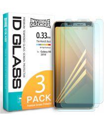 Ringke ID Glass 0.33mm Samsung Galaxy A8 2018 (3-Pack)