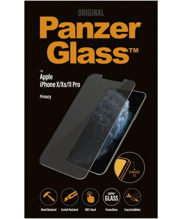 PanzerGlass Apple iPhone 11 Pro / X(s) Privacy Glass Screenprotector Screen Protectors