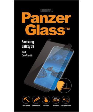 PanzerGlass Samsung Galaxy S9 Case Friendly Screenprotector Zwart Screen Protectors