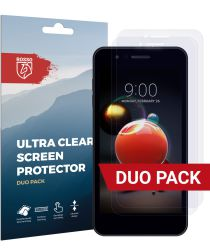 Rosso LG K9 Ultra Clear Screen Protector Duo Pack