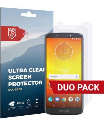 Rosso Motorola Moto E5 Ultra Clear Screen Protector Duo Pack Screen Protectors