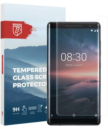 Rosso Nokia 8 Sirocco 9H Tempered Glass Screen Protector