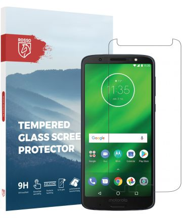Rosso Motorola Moto G6 Plus 9H Tempered Glass Screen Protector