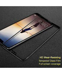 Huawei P20 Lite Full Cover Tempered Glass Zwart