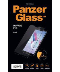 PanzerGlass Huawei P20 Edge To Edge Screenprotector Zwart