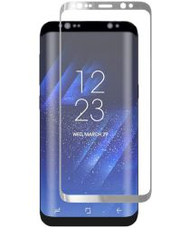 Samsung Galaxy S8 Plus Tempered Glass Screen Protector Zilver