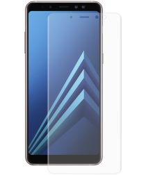 Samsung Galaxy A8 (2018) Tempered Glass Screen Protector Transparant