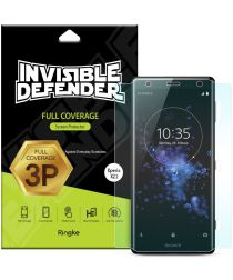Ringke ID Full Coverage Screen Protector Sony Xperia XZ2 [3-Pack]