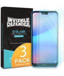 Ringke ID Glass 0.33mm Huawei P20 Lite (3 Pack)
