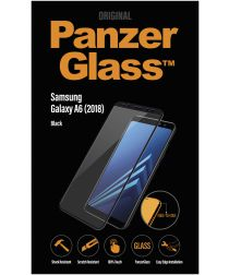 PanzerGlass Samsung Galaxy A6 Edge To Edge Screenprotector Zwart