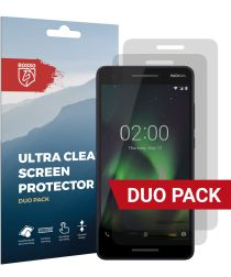 Rosso Nokia 2.1 Ultra Clear Screen Protector Duo Pack
