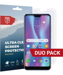 Rosso Honor 10 Ultra Clear Screen Protector Duo Pack