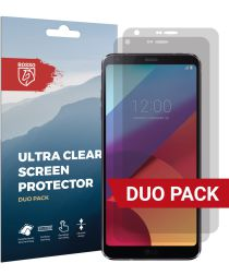 Rosso LG G6 Ultra Clear Screen Protector Duo Pack