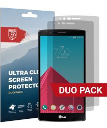Rosso LG G4 Ultra Clear Screen Protector Duo Pack