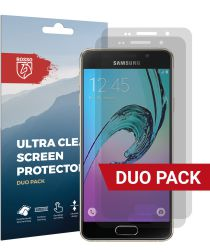 Rosso Samsung Galaxy A3 2016 Ultra Clear Screen Protector Duo Pack