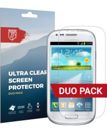 Rosso Samsung Galaxy S3 Mini Ultra Clear Screen Protector Duo Pack