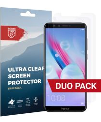Rosso Honor 9 Lite Ultra Clear Screen Protector Duo Pack