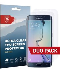 Rosso Samsung Galaxy S6 Edge Ultra Clear Screen Protector Duo Pack