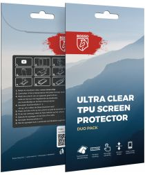 Rosso Samsung Galaxy S6 Edge Plus Ultra Clear Screen Protector Duo Pac