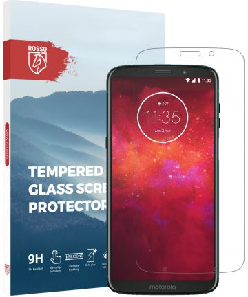 Rosso Motorola Moto Z3 Play Tempered Glass Screen Protector