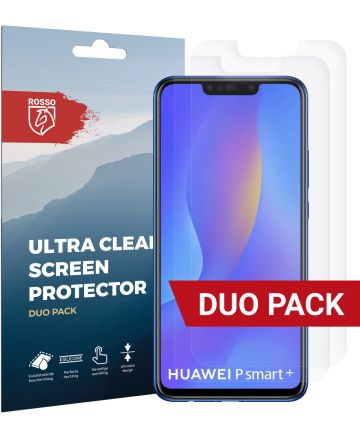 Rosso Huawei P Smart Plus Ultra Clear Screen Protector Duo Pack Screen Protectors