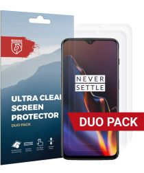 Rosso OnePlus 6T Ultra Clear Screen Protector Duo Pack