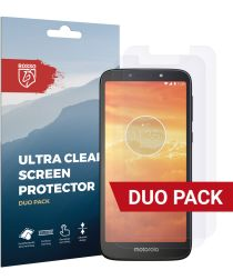 Rosso Motorola Moto E5 Play Ultra Clear Screen Protector Duo Pack