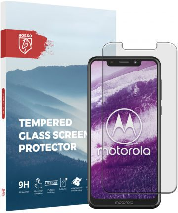 Rosso Motorola One 9H Tempered Glass Screen Protector