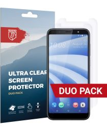Rosso HTC U12 Life Ultra Clear Screen Protector Duo Pack