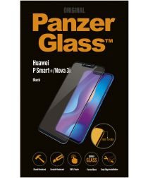 PanzerGlass Huawei P Smart Plus Edge to Edge Screenprotector Zwart