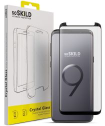SoSkild Galaxy S9 Tempered Glass Full Glue Screenprotector Zwart