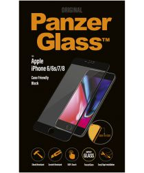 PanzerGlass Apple iPhone 8 / 7 Case Friendly Screenprotector Zwart