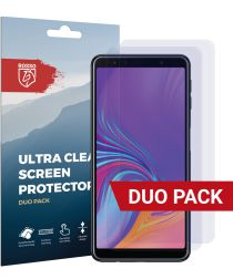 Rosso Samsung Galaxy A7 2018 Ultra Clear Screen Protector Duo Pack