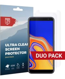 Rosso Samsung Galaxy J6+ Ultra Clear Screen Protector Duo Pack