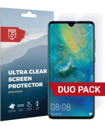 Rosso Huawei Mate 20 Ultra Clear Screen Protector Duo Pack